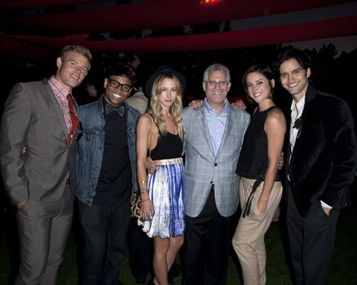 Stars of 90210? attend CW Network Summer 2011 TCA Party