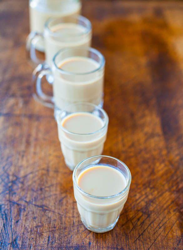 Homemade Baileys Irish Cream - Make in 1 minute averiecooks.com