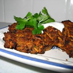 Spicy Black Bean Cakes | Recipe