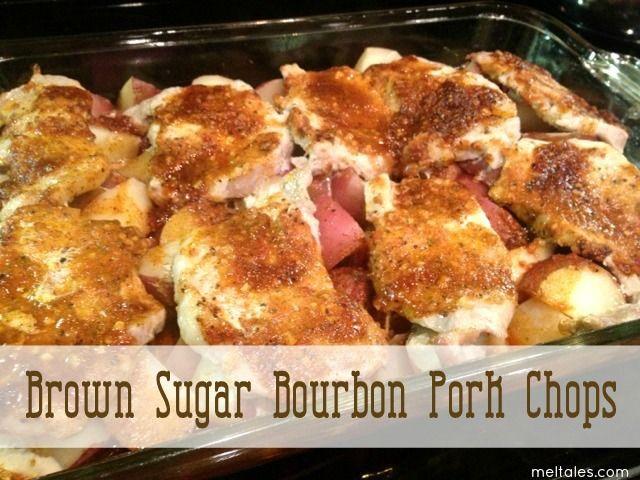 Mel Tales: Brown Sugar Bourbon Pork Chops | Recipes- Healthy & or Low ...
