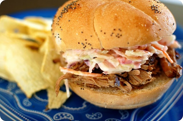 Spicy Dr. Pepper Shredded Pork - could also do this with shredded beef ...