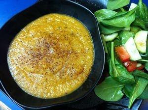 Chipotle Butternut Squash Soup. (vegan) | Soup's On | Pinterest