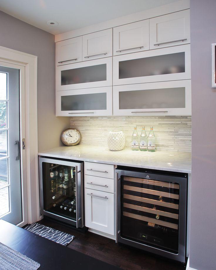 custom wine bar kitchen design pinterest