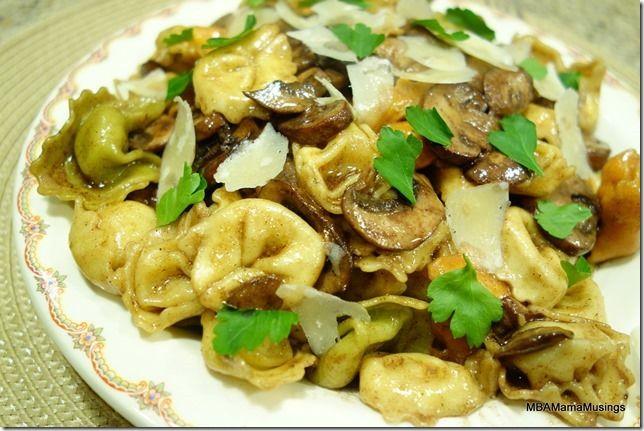 Balsamic Vinegar and Brown Butter Tortellini #Recipe4Romance #g!veaway ...