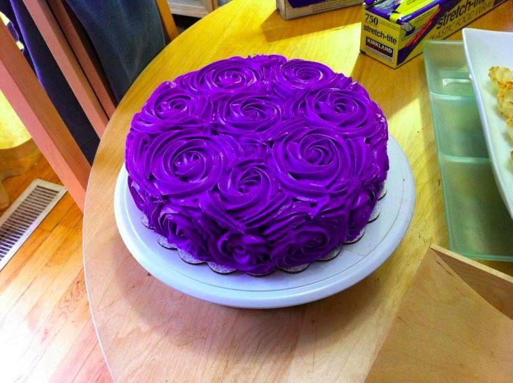 Purple Colour Cake Images : purple velvet cake Velvet Desserts-the others Pinterest