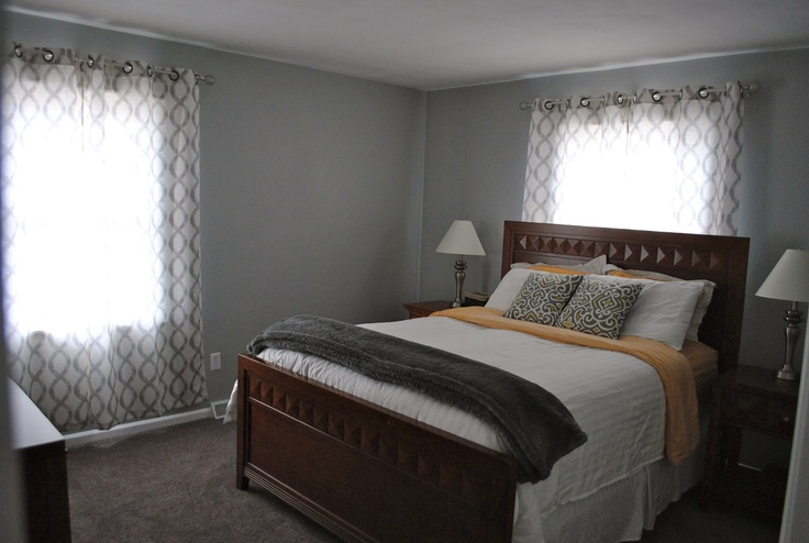 gray bedroom valspar urban sunrise home sweet home pinterest