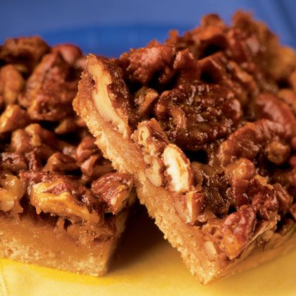 Maple Pecan Bars, Family Fun magazine. Very easy and quick to make ...