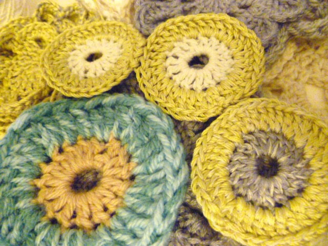 crochet circles Yarn Graffiti Pinterest