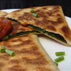 Spinach Quesadilla. | Delicious To-do List | Pinterest