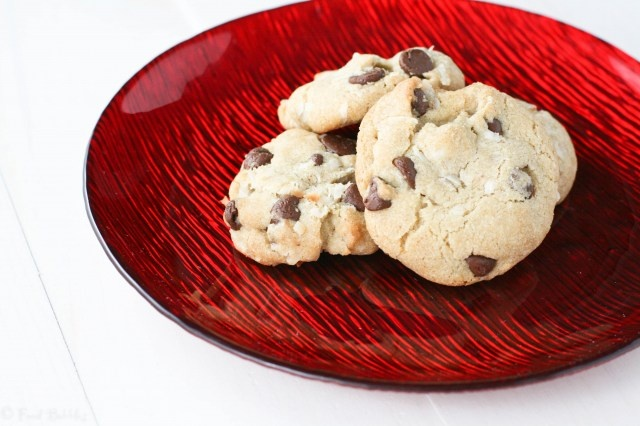 Salted Brown Butter Coconut Chocolate Chip Cookies... best cookies in ...