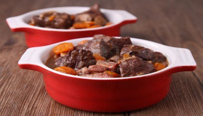 Julia Child's recipe for Beef Bourguignon
