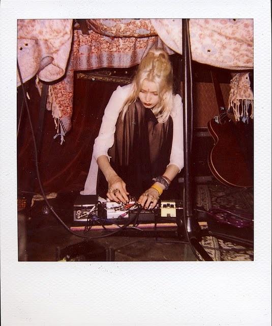 Glastonbury Festival Fashion Inspiration. Black chiffon skirt, Bindi, Indian, fabric, tent, dj, music, guitar