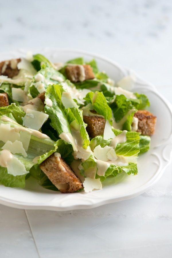 Easy Caesar Salad Recipe | SALADS | Pinterest