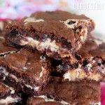 Ooey-Gooey Peanut Butter Chocolate Brownies