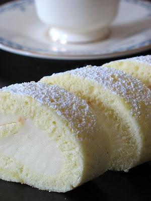 Tartelette: Meyer Lemon Cake Roll - Coming Full Circle