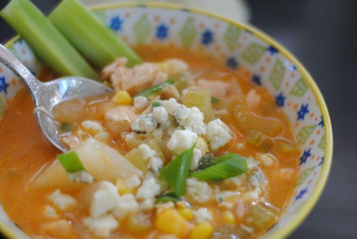 Buffalo Chicken Corn Chowder | Yum! | Pinterest