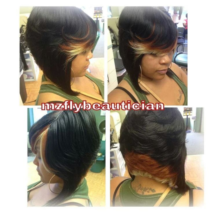 Tri color hair styles pinterest