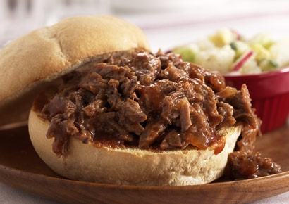 Healthy : Slow Cooker Barbecue Beef | food = love. | Pinterest