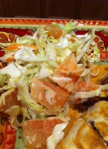 Wasabi Grapefruit Cole Slaw | Favorite Vegan Recipes | Pinterest
