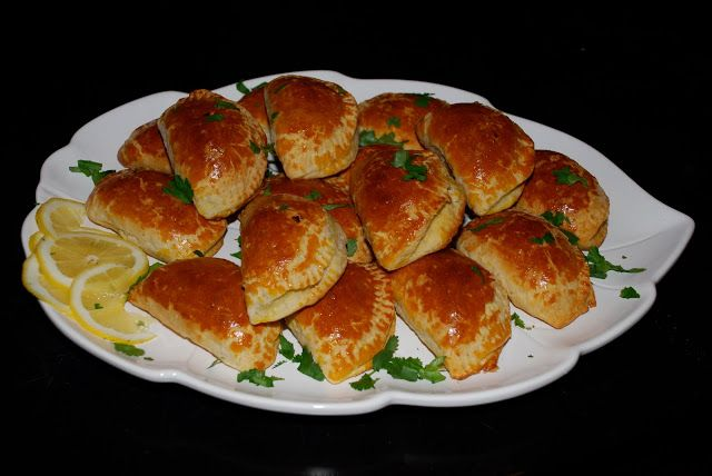 Spicy Empanadas With Cilantro Cream Recipe — Dishmaps