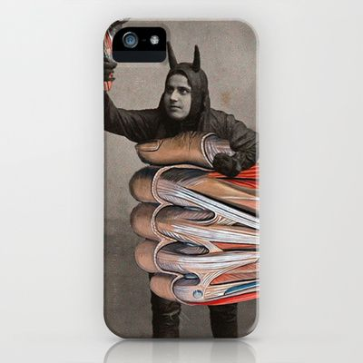 Taking things into his own hands iphone ipod case by julia lillard
