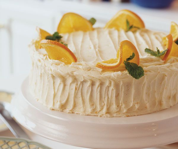 Orange Layer Cake by Fine Cooking | American Desserts | Pinterest