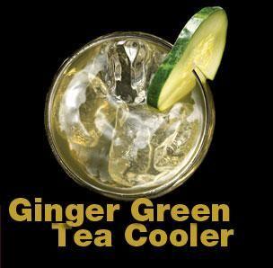 Ginger Green Tea Cooler   Yummy!!   Pinterest