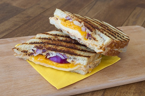 Mexican Style Chipotle Pepper Grilled Cheese Sandwich Recipe