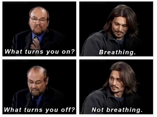 Breathing. I do that all the time.