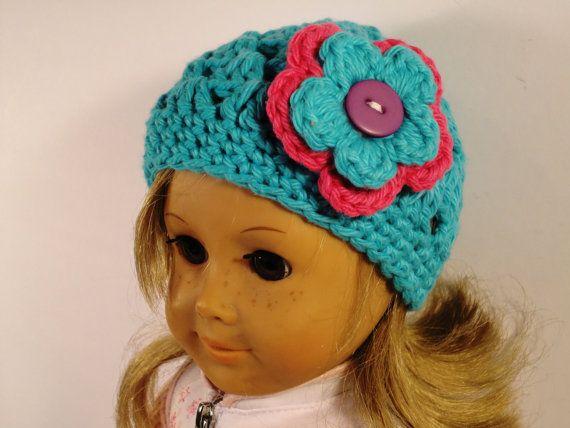 Crochet Hat Pattern American Girl Fits 18