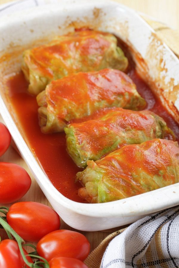 Stuffed Cabbage Rolls--I grew up eating these and this link has a ...