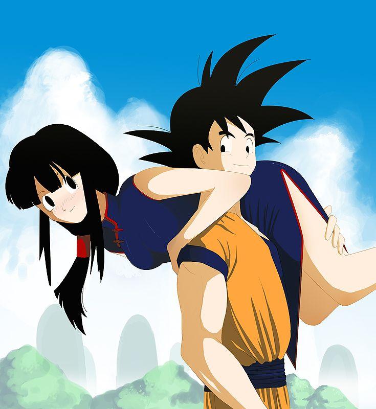 Good idea Dragon ball chi chi and goku kiss