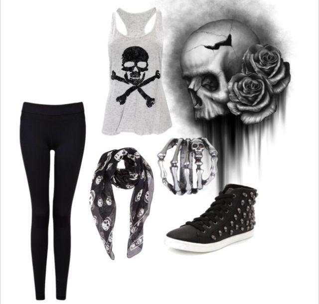 skulls cute clothes and accessories pinterest