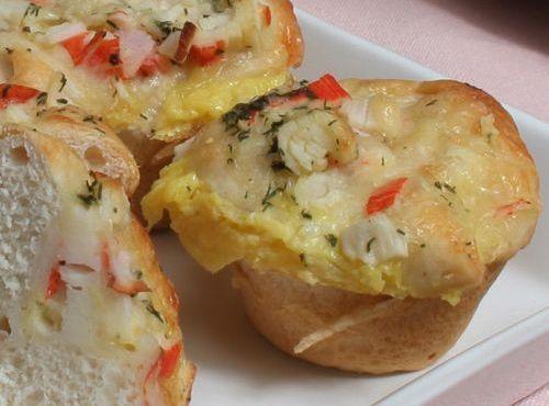 Crab Quiche Bites | Breakfast Style | Pinterest