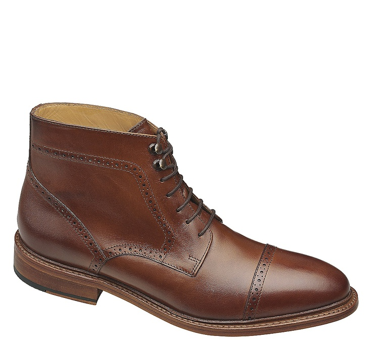 Hutchins Cap Toe Boot - As Seen in Esquire, September 2012 #johnstonmurphy