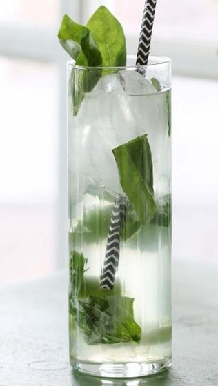 Basil Mojito | Cocktails II | Pinterest