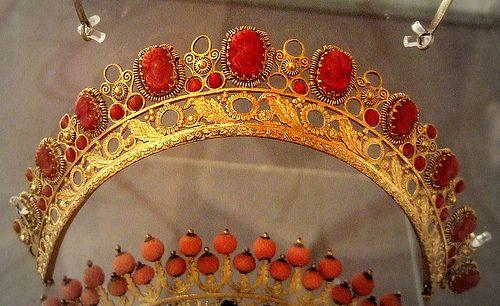 Red Coral - французский c.19th века Бирмингем Ювелирные изделия квартал Музей