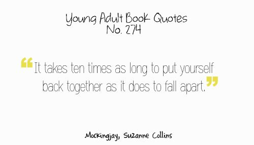 Love Quotes From Teenage Books : Love Quotes From Young Adult Books. QuotesGram
