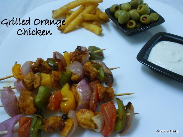 Grilled Orange Chicken | Entrees | Pinterest