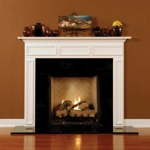 Chambersburg pro series wood mantel fireplace mantle - Pictures of fireplace mantels ...