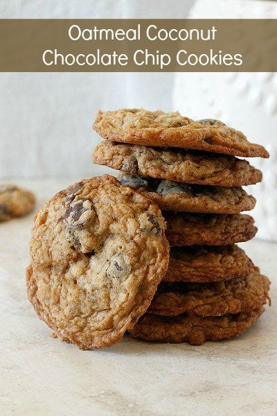 Coconut Chocolate Chip Cookies Recipes — Dishmaps