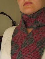 Ravelry: Uncle Argyle Scarves pattern by Lindsay Henricks