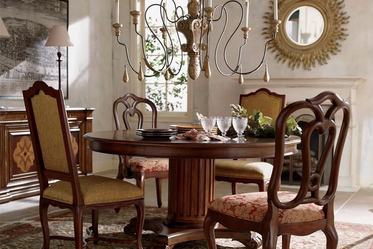 ethan allen elegance dining room home pinterest