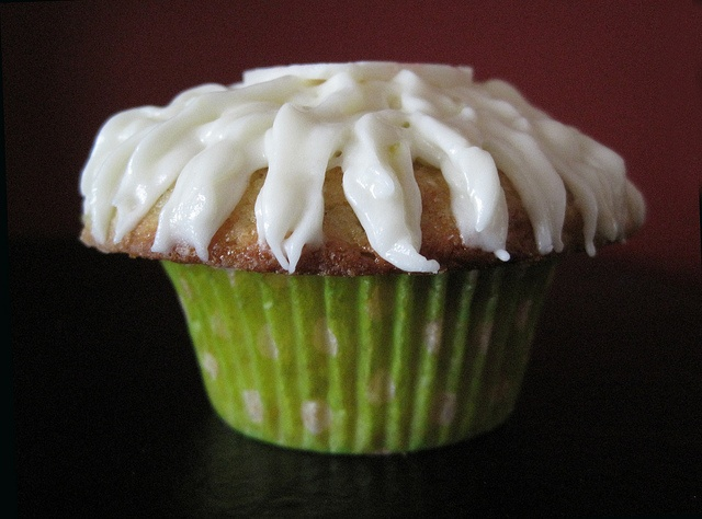 triple ginger lemon cupcake-moist cupcakes made with fresh ...