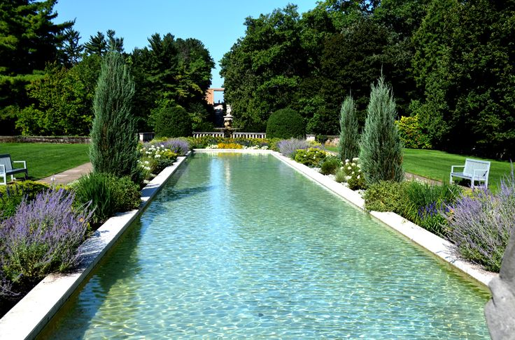 Reflecting pool inspired pool outdoor decorating ideas for Garden reflecting pool