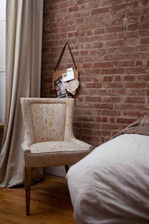 mm love the exposed brick
