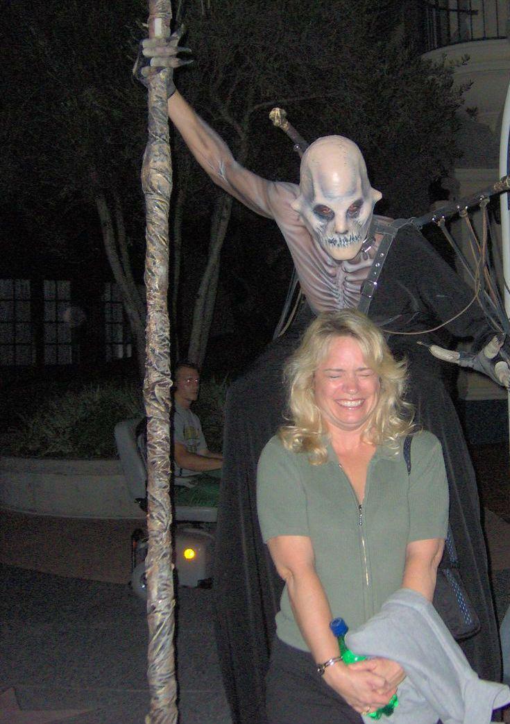 Susan Veness at Universal Orlando's Halloween Horror Nights