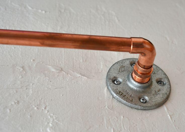 copper pipe curtain hardware champion bailey home