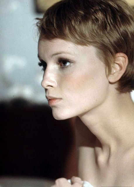Mia Farrow, cute pixie cut! | Think I might cut my hair ... | 458 x 640 jpeg 37kB