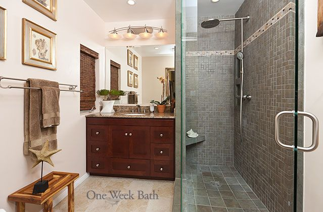Long Narrow Shower Bathroom Ideas Pinterest